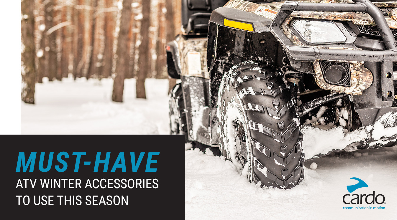 Must-Have ATV Winter Accessories to Use This Season