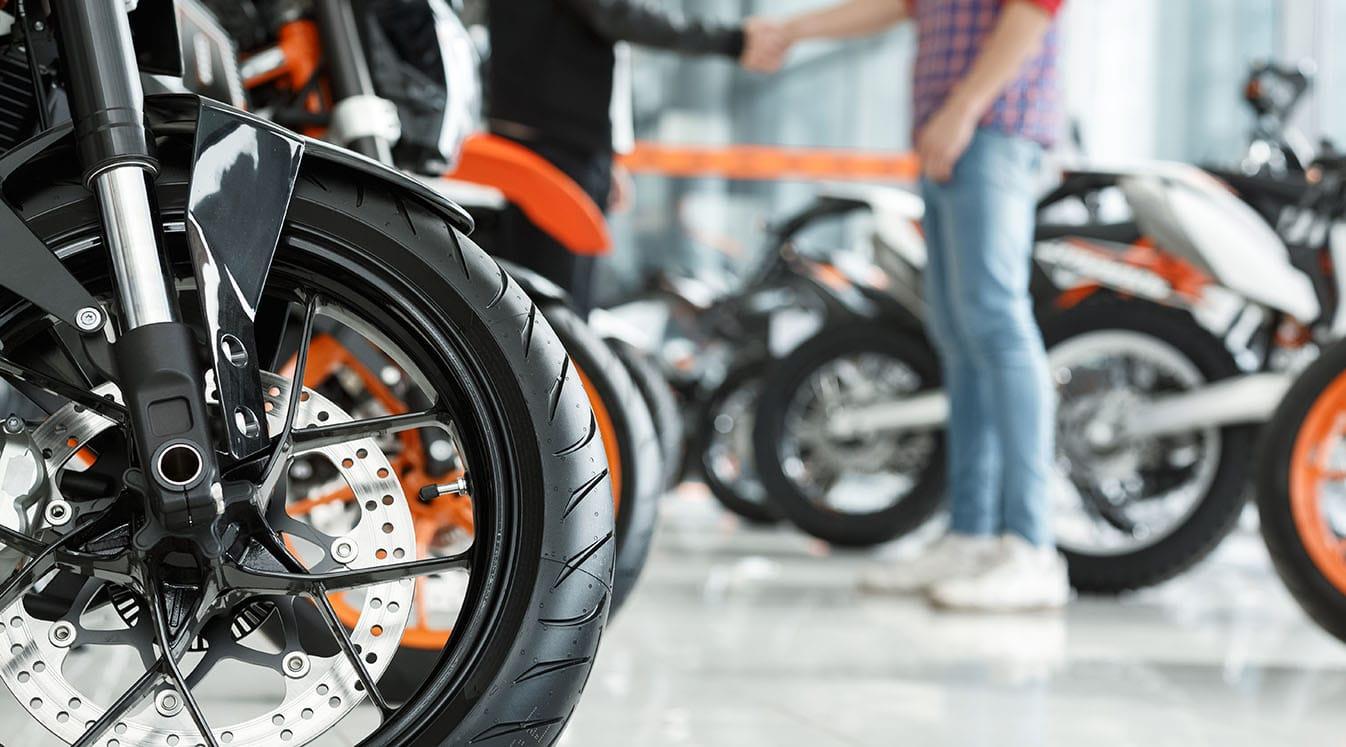 motorcycle wheel