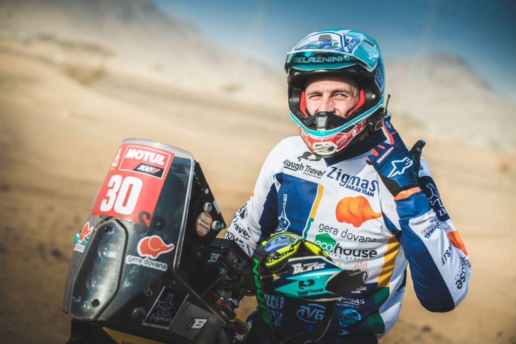 Cardo is proud to support Arunas Gelazninkas, 'Original by Motul' Dakar winner